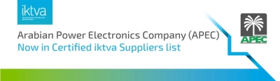 APEC now in certified iktva supplier list